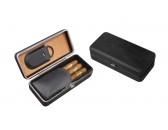 Чехол Aficionado Cigar Leather Case LCFC/BLK