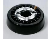 Пепельница  черная 13 см