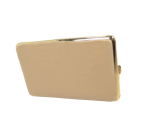 Портсигар CHACOM CC086 для 14 сигарет 100мм бежевый (кожа)