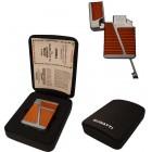 Зажигалка Bugatti 6 Copper & Chrome BL640