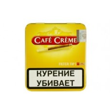 Сигариллы Cafe Creme Filter Tip 10 шт.