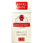 Фильтры сигаретные DISCOVERY Extra Slim (120x20x20)