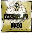 Фильтры сигаретные DISCOVERY Slim (120x10x8)