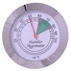 Гигрометр механический 43 мм, серебро