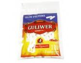 Фильтры для самокруток «Guliwer» Slim 6 мм - пачка 34 пакетика