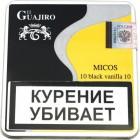 Сигариллы El Guajiro Micos Black Vanilla*10