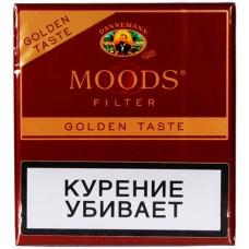 Сигариллы Dannemann Moods Filter Golden Taste