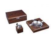 Настольный набор сигарных аксессуаров Lubinski SET-Q2502