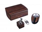 Настольный набор сигарных аксессуаров Lubinski QB206