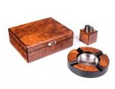 Настольный набор сигарных аксессуаров Lubinski  SET-Q2500