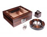 Настольный набор сигарных аксессуаров Lubinski SET-QB228