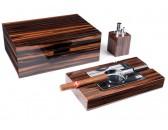 Настольный набор сигарных аксессуаров Gentili - SET-SVH09-Incavo