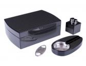 Настольный набор сигарных аксессуаров Lubinski SET-QB305