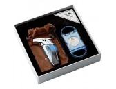Подарочный набор: зажигалка для сигар c гильотиной, арт. AFN-L501SET
