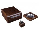 Настольный набор сигарных аксессуаров Lubinski SET-Q620