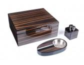 Настольный набор сигарных аксессуаров Tom River SET-562-040