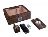Настольный набор сигарных аксессуаров Lubinski  SET-QB509