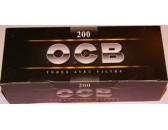 Сигаретные гильзы OCB Black 200 шт