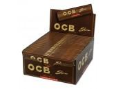 Сигаретная бумага OCB Slim Virgin Unbleached (50 пач х 32лист)