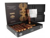 Подарочный набор сигар Plasencia Alma Fuerte Sixto II Hexagono с пепельницей