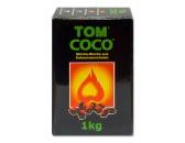 Уголь натуральный Кокосовый  Tom Coco 1кг
