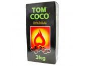 Уголь натуральный  кокосовый  Tom Cococha Green 3 кг