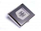 Портсигар Stoll на 18 сигарет, нержавеющая сталь