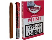 Сигариллы Swisher Sweets Strawberry Mini Cigarillos (6 шт.)