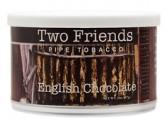 Трубочный табак Two Friends English Chocolate, банка 57 гр