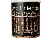 Трубочный табак Two Friends English Chocolate, банка 227 гр
