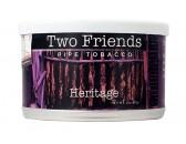 Трубочный табак Two Friends Heritage, банка 57 гр