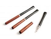 Мундштук  для сигарет GG 130 мм S супер слим 4 мм красное дерево, эбонит