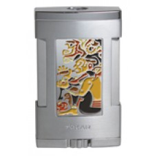 Зажигалка Xikar 543 MYC HC Tabletop Lighter-Mayan Cloison